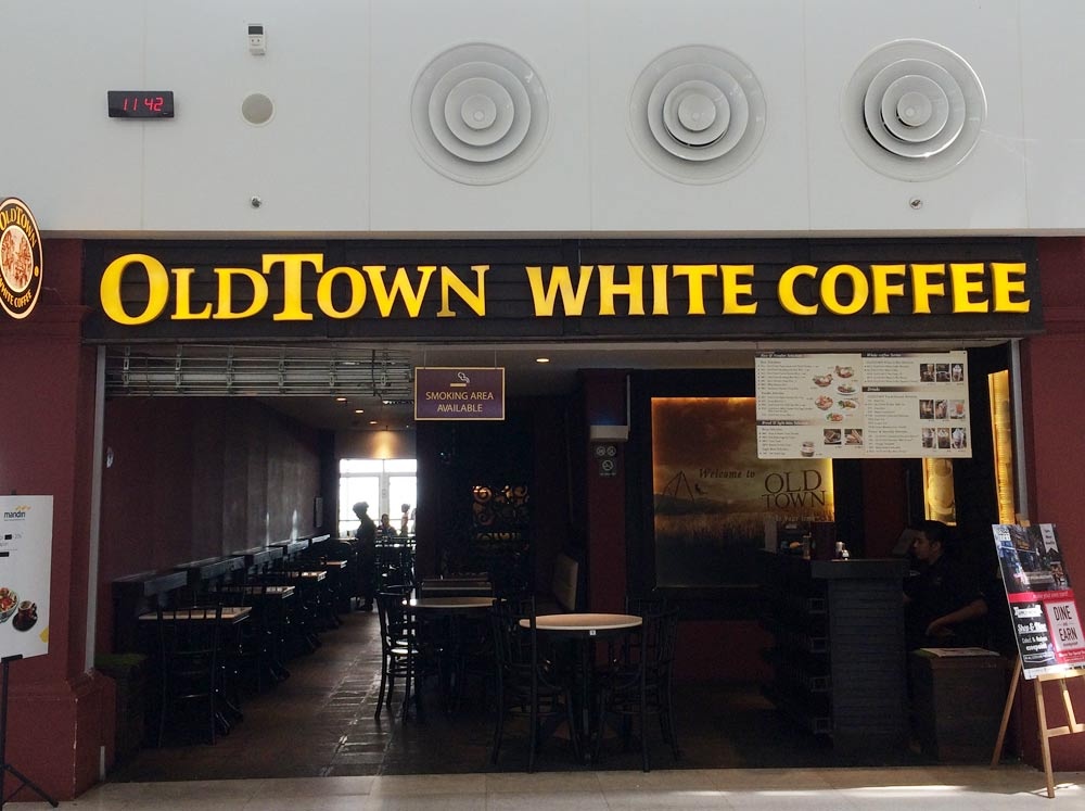 元祖White Coffeeの店舗